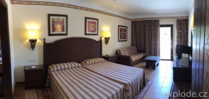 Pokoj hotelu Riu Karamboa