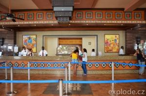Recepce hotelu Riu Karamboa