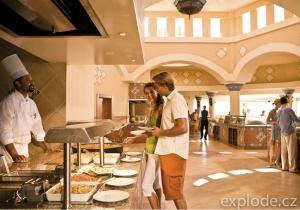 Restaurace hotelu Riu Karamboa