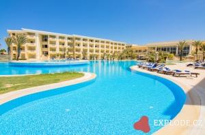 Bazén hotelu Royal Thalassa Monastir