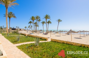 Pláž hotelu Zephir
