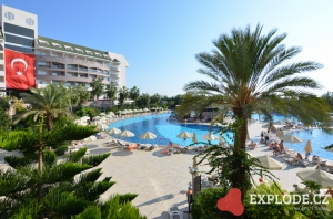 Areál hotelu Amelia Beach Resort and Spa