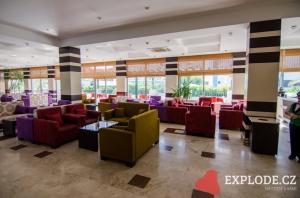 Lobby hotelu Seher Sun Beach