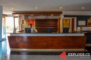 Recepce hotelu Oasis Atlantico Belorizonte