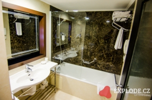 Koupelna hotelu Limak Atlantis