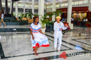 Uvítání v Bahia Principe El Portillo