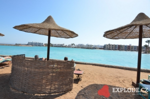 Pláž hotelu Arabia Azur