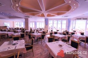 Restaurace hotelu Mitsis Rodos Village