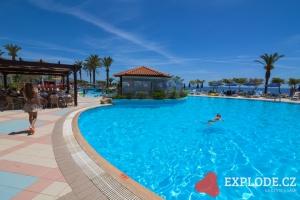 Bazén hotelu Rodos Princess