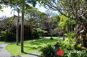 Zahrada hotelu Bumas