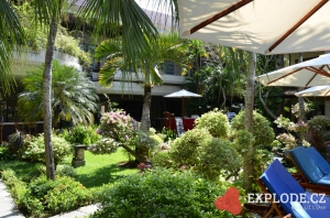 Hotelová zahrada