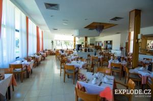 Restaurace hotelu Exagon Park