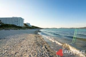 Pláž u hotelu Playa Esperanza