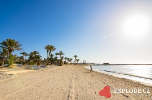 Pláž Riu Palm Azur