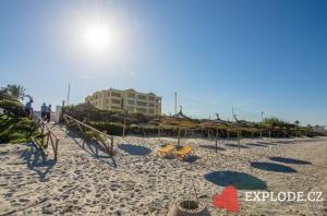 Pláž hotelu Nour Palace