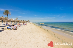 Pláž hotelu Calimera Rosa Rivage