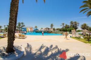 Areál hotelu One Resort Aqua Park and Spa