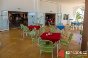 Restaurace hotelu Samira Club