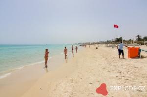 Pláž hotelu LTI El Ksar