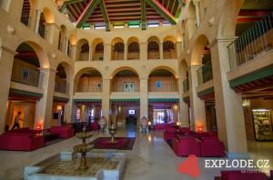 Hala hotelu LTI El Ksar