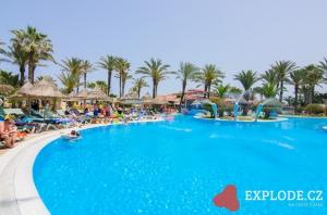 Bazén hotelu Riadh Palms