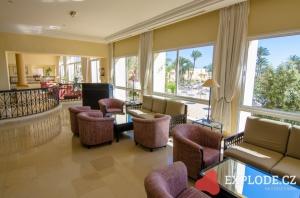 Interiér Zephir hotelu
