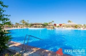 Bazén hotelu Miramar Petit Palace