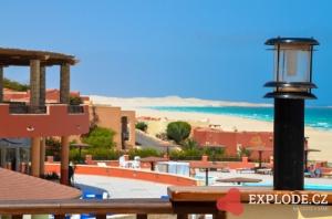 Pláž u hotelu Royal Decameron Boa Vista