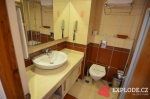 Koupelna hotelu Doganay Beach