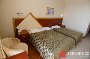 Pokoj hotelu Kirman Arycanda
