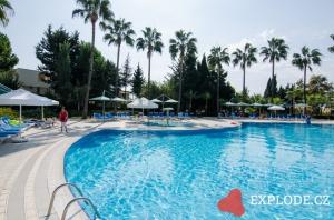 Bazén hotelu Iz Flower
