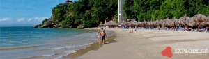 Pláž hotelu Bahia Principe Cayacoa