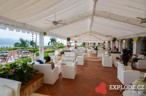 Restaurace hotelu Bahia Principe Cayacoa