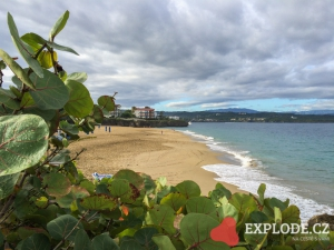Pláž u hotelu Casa Marina