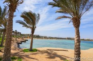 Pohled k pláži