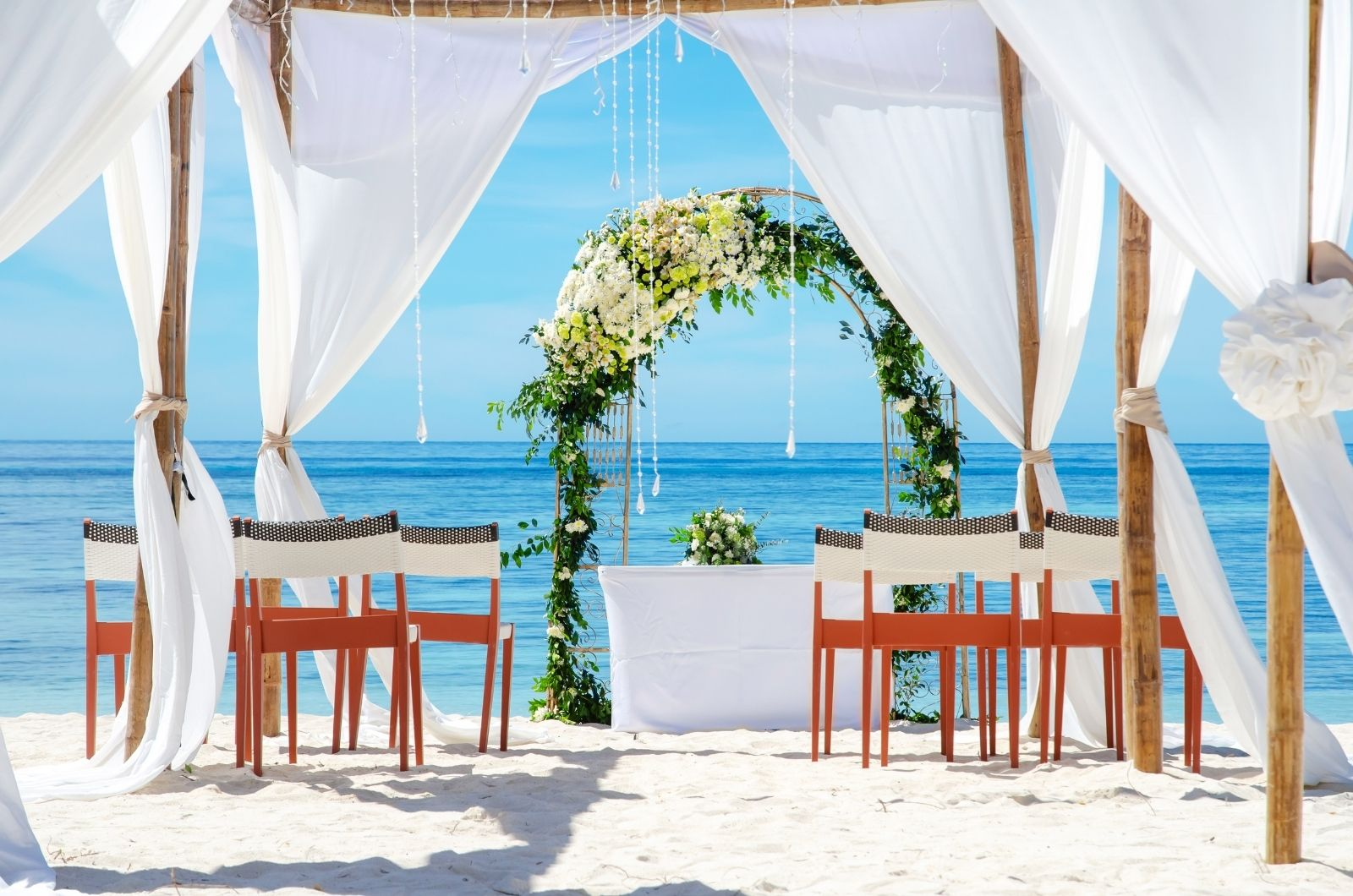 Svatba na ostrově Mauricius