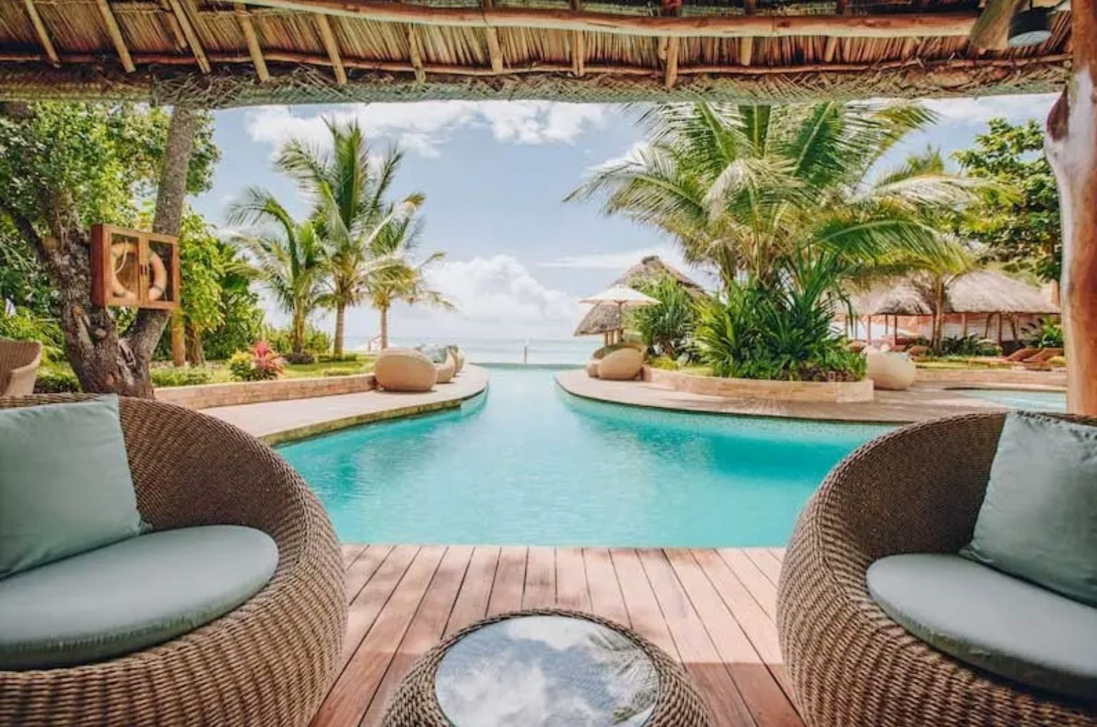 Ubytování na Zanzibaru