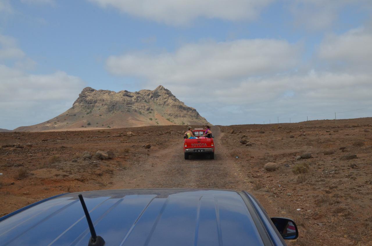 Výlety po ostrově Boa Vista - Kapverdy