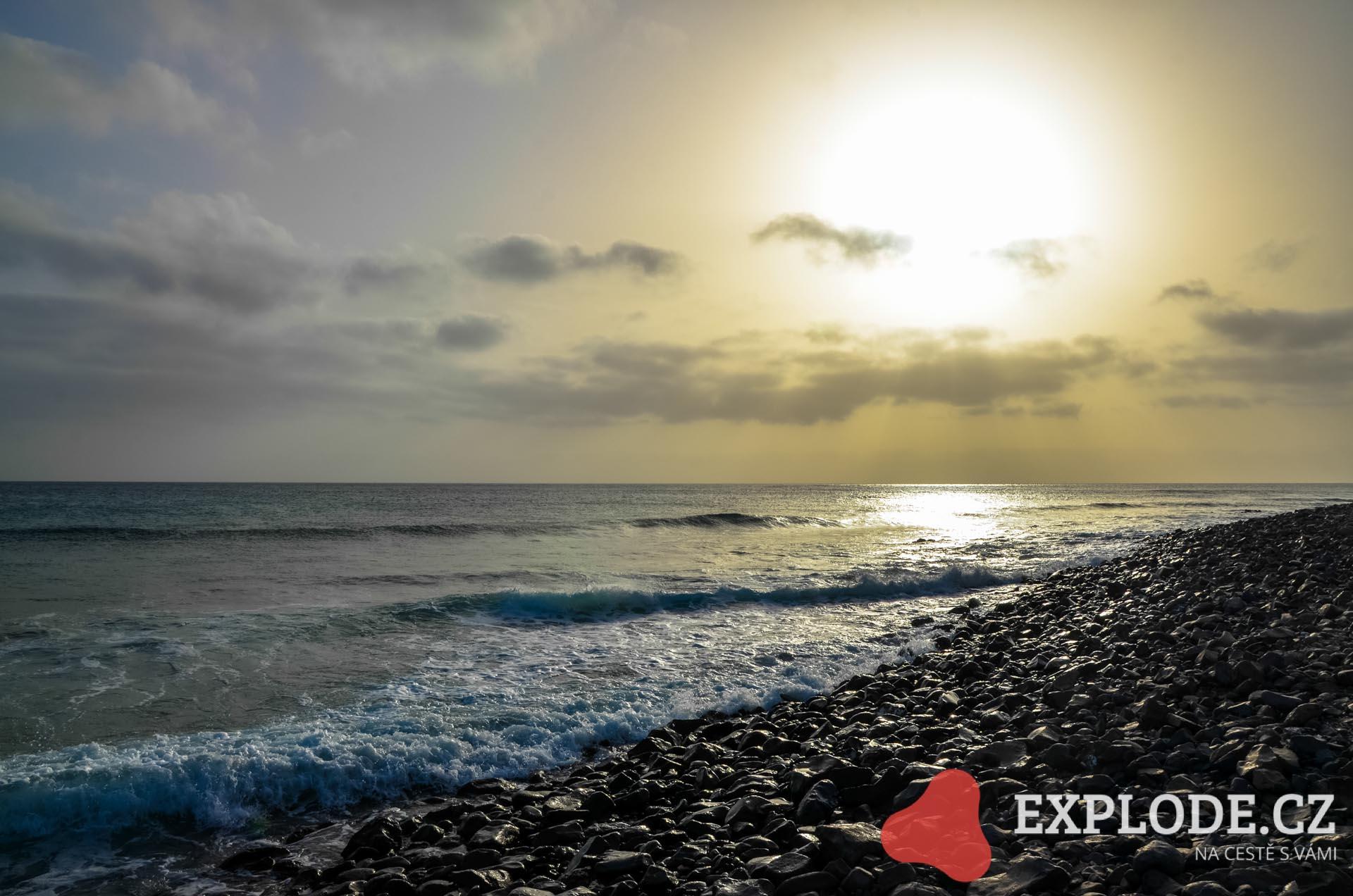 Pláž Ponta Preta - Sal - Kapverdy
