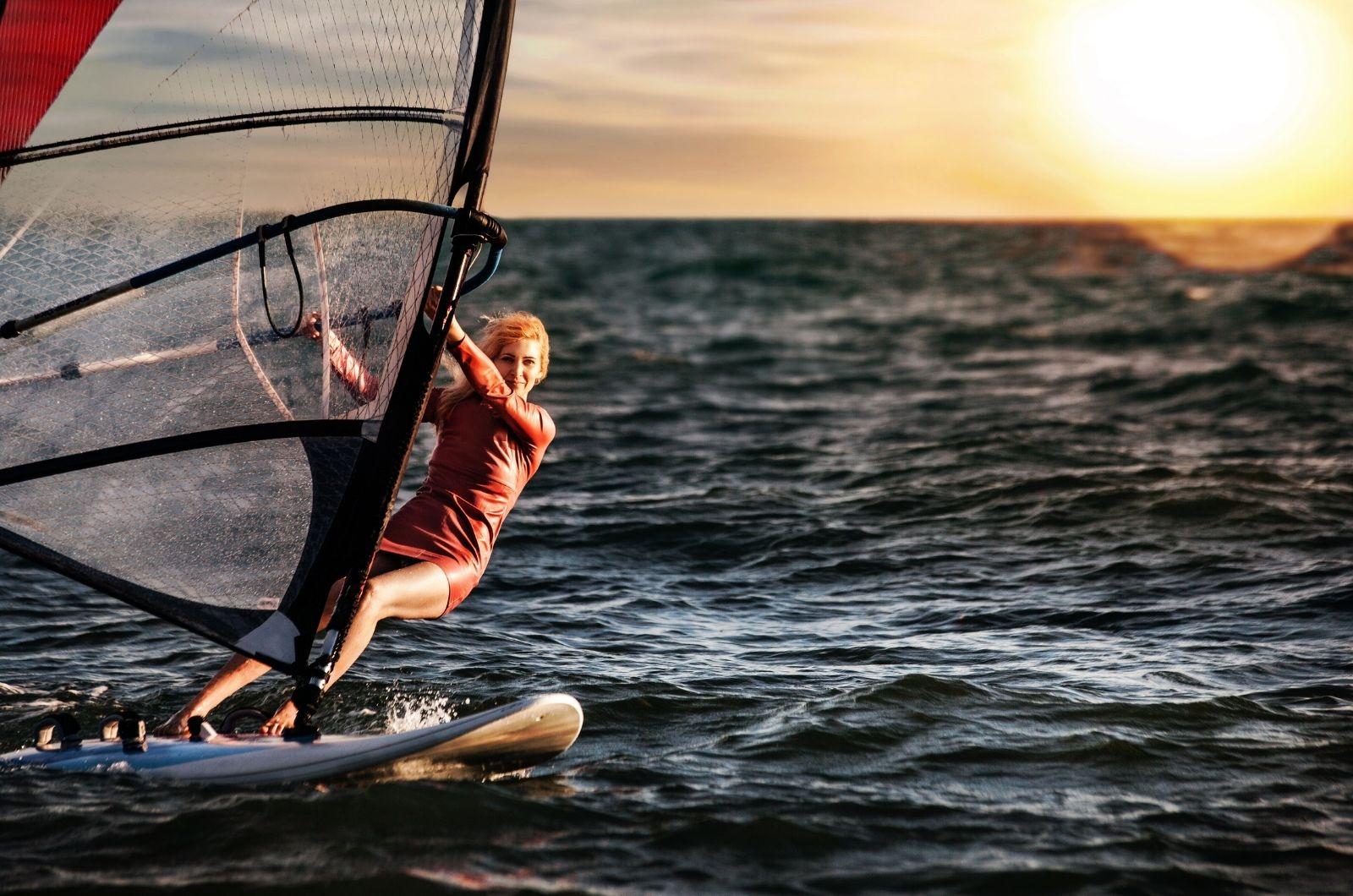 Windsurfing na Salu - Kapverdy