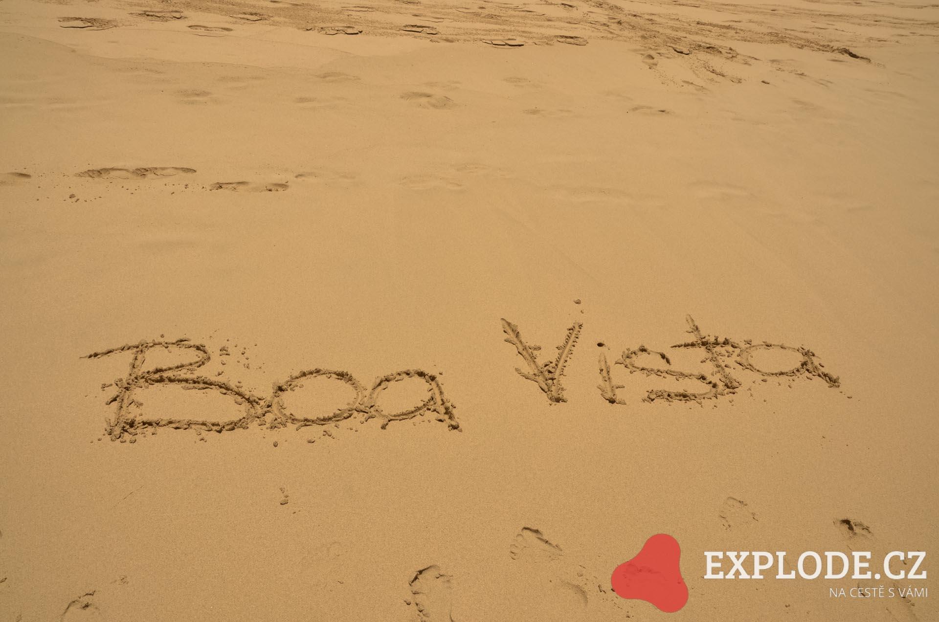 Písečné pláže na Boa Vistě