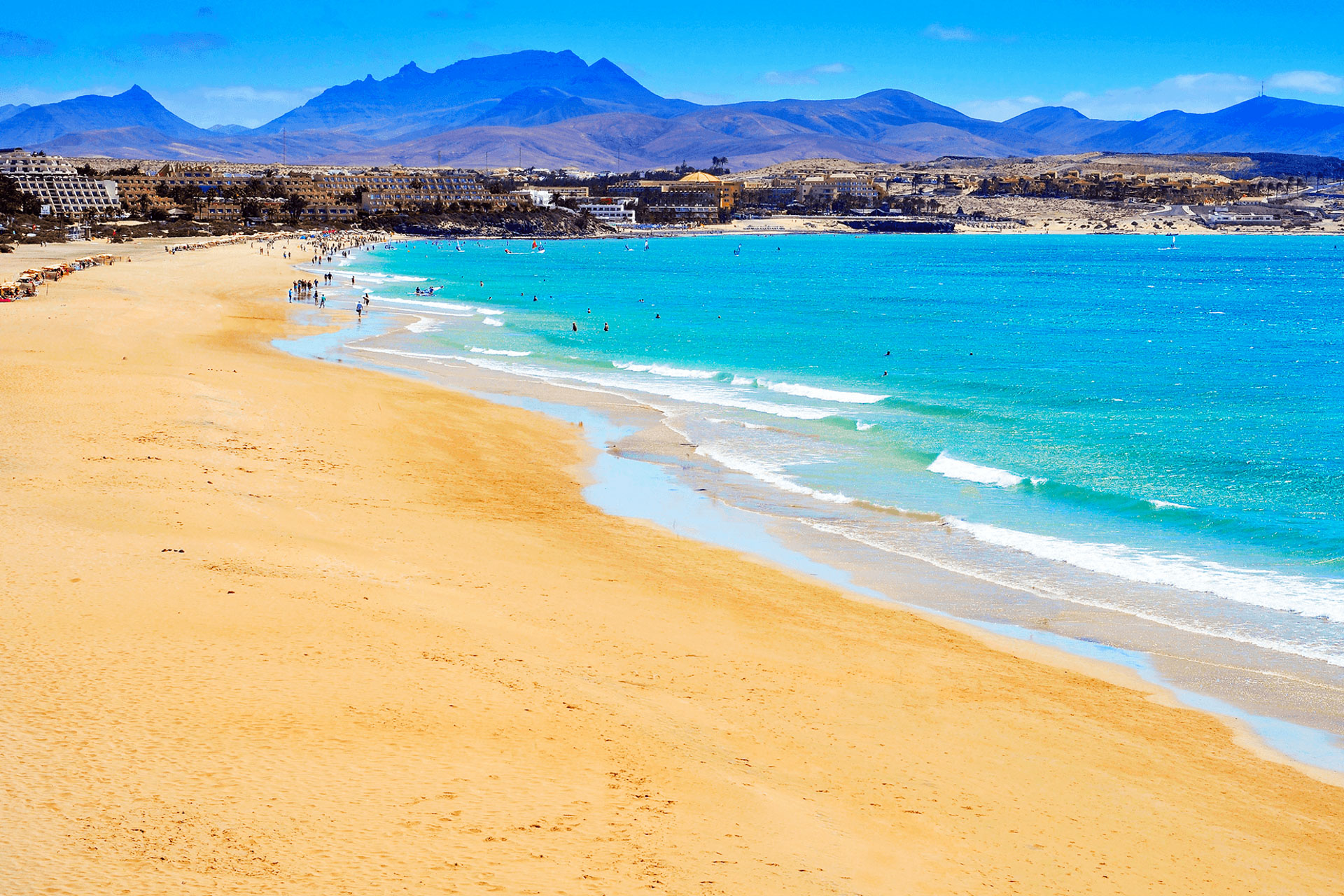 Fuerteventura písečné pláže