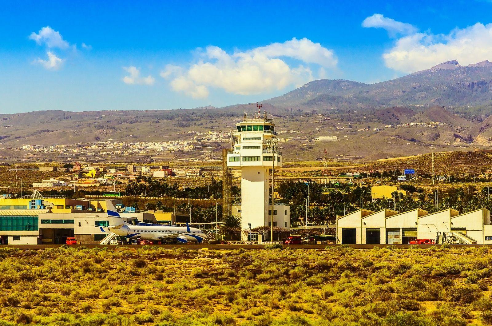 Letiště na Kanárských ostrovech