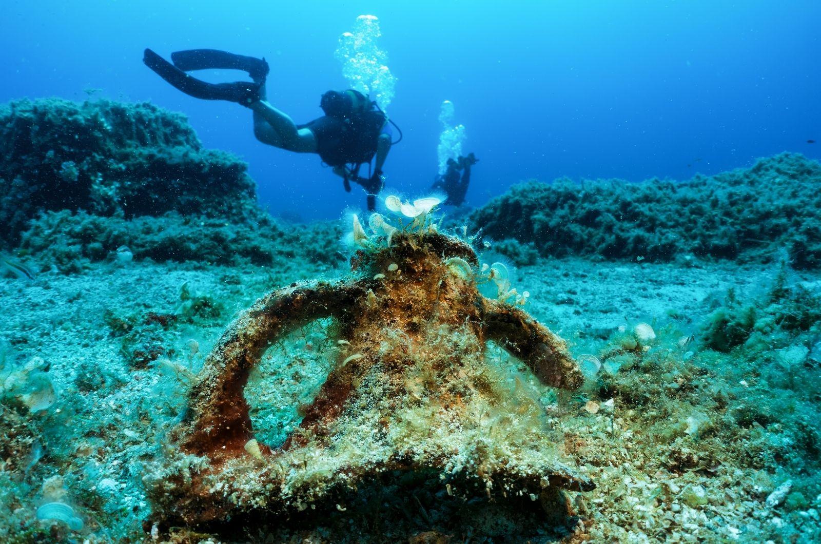 Aktivní dovolená v Řecku - potápění