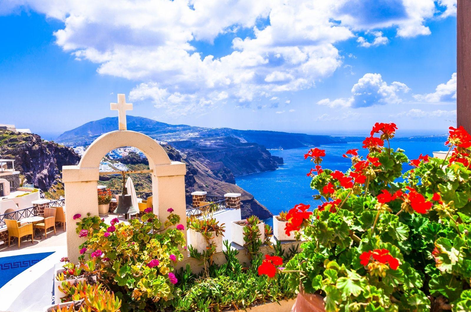 Řecká krajina a příroda