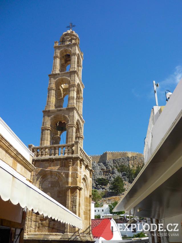 Věž se zvonicí – Lindos