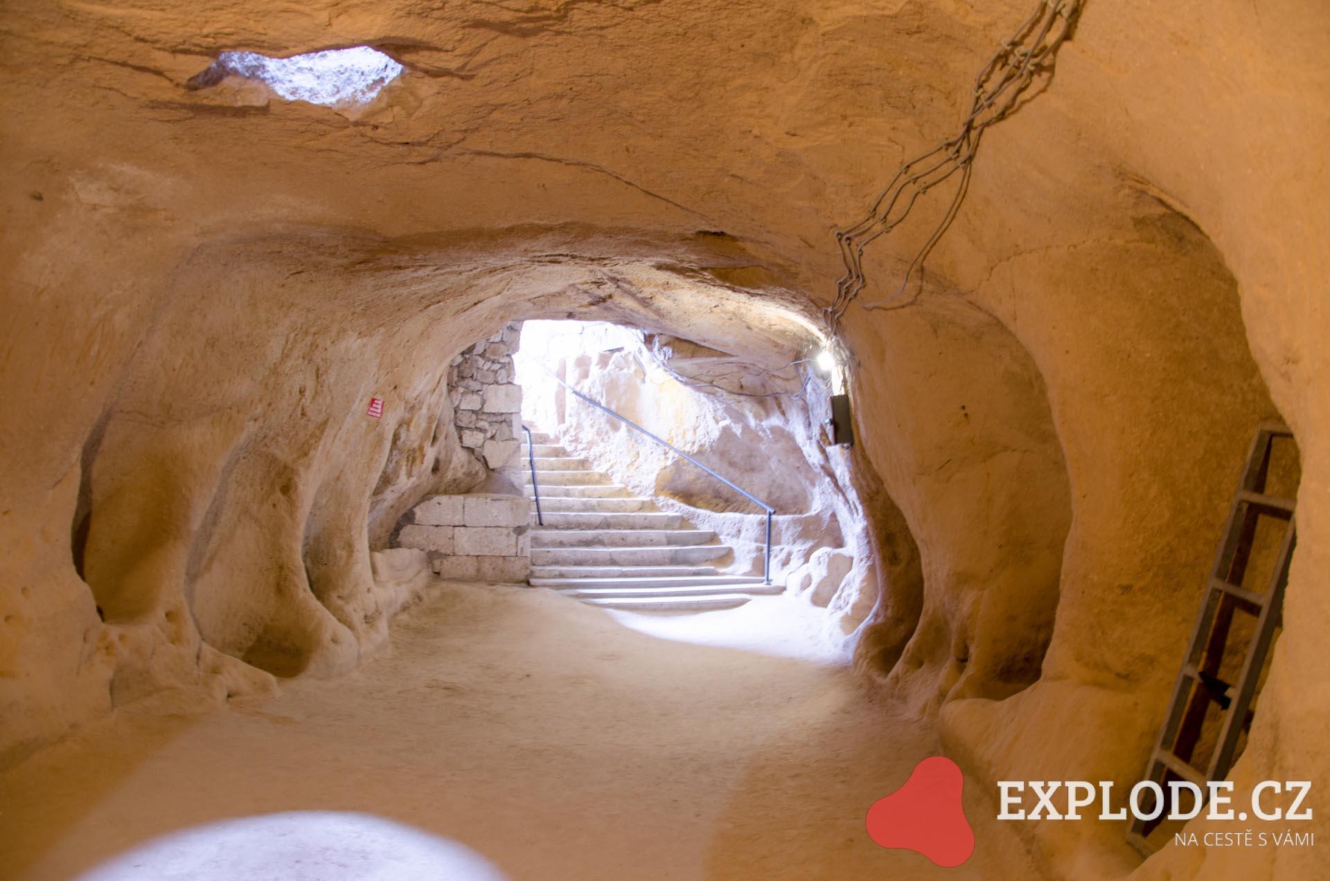 Podzemní město Saratli