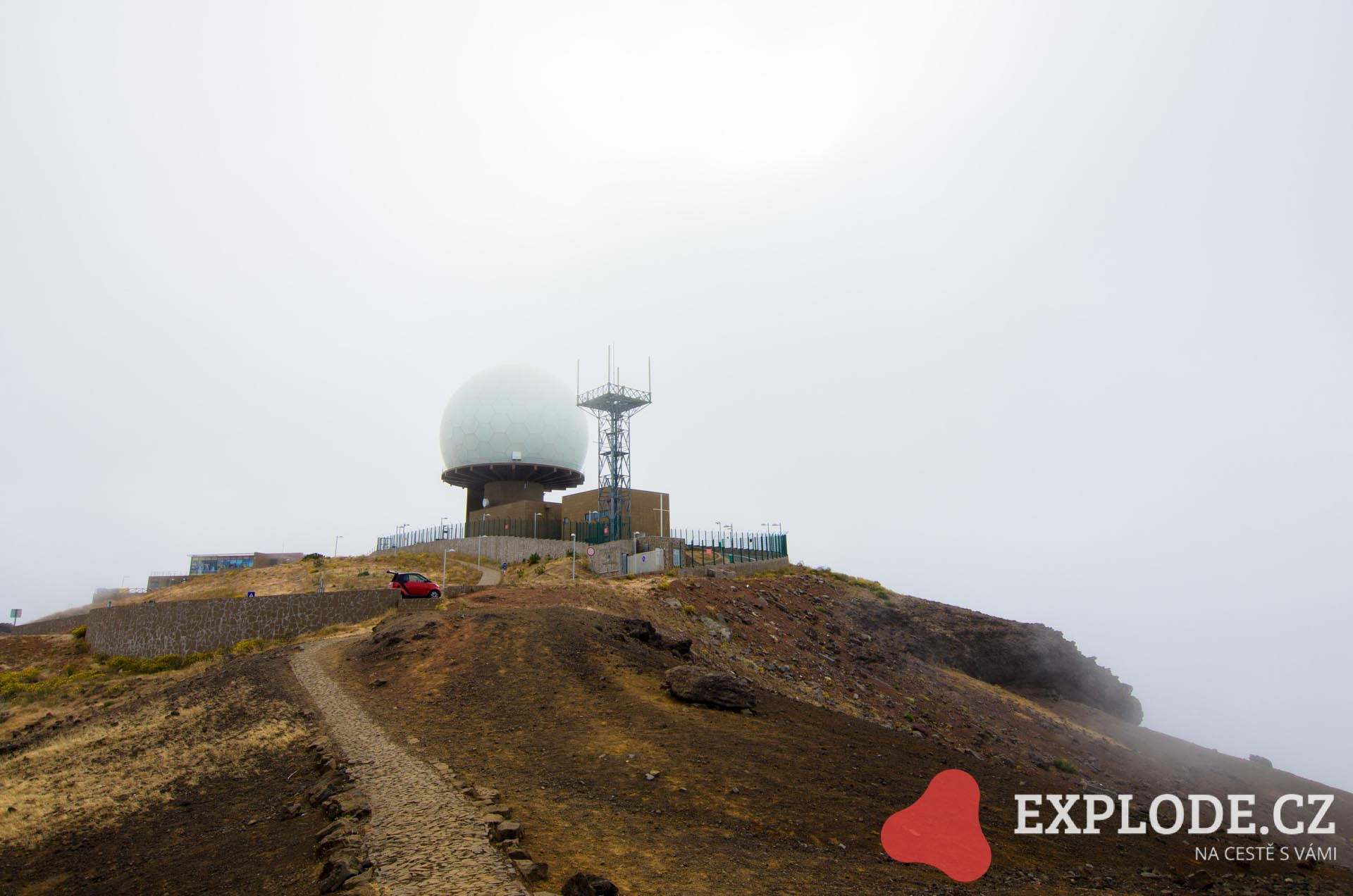 Radar na hoře Pico do Arieiro