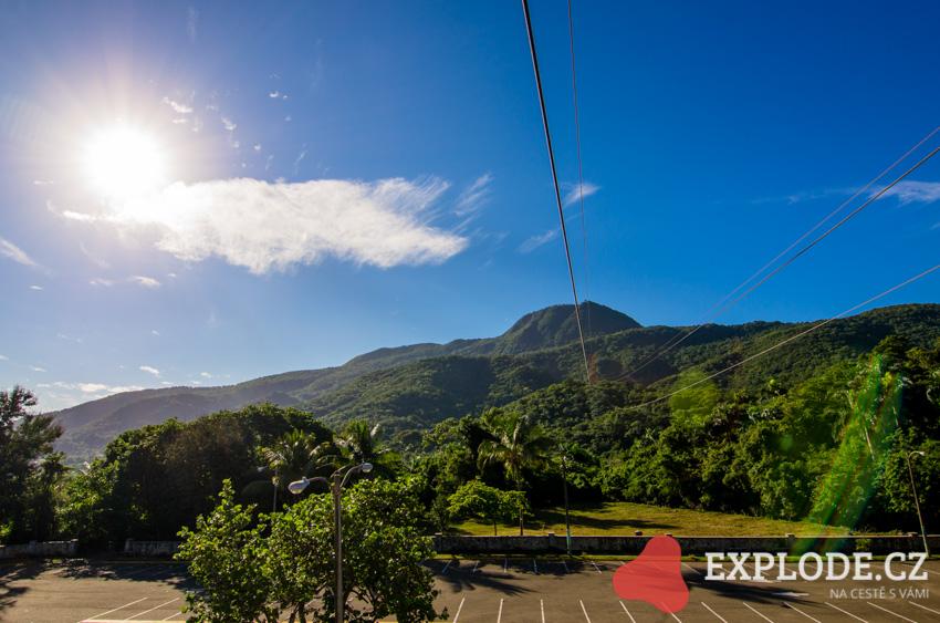 Vyhlídka - hora Pico Isabel de Torres