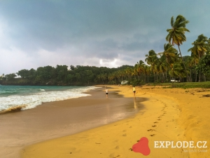 Pláž Playa Moron